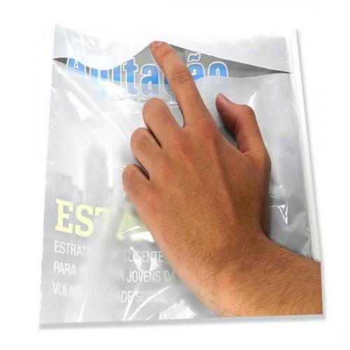 envelopes plástico tipo fronha